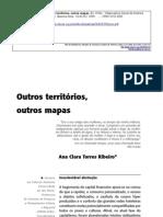 Ana Clara Torres Ribeiro - Outros territórios, outros mapas