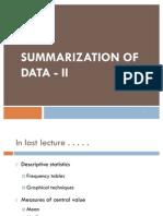 Lec 5 Measures of Variation