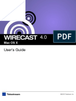 Wirecast User Guide Mac