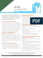 Clorox H1N1 Info Guide