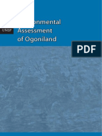 UN Environmental Assesment of Ogoniland