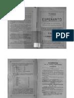 Todo el Esperanto y el modo aprenderlo leyendo una pequeña historia