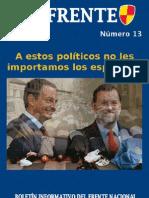 DE FRENTE nº 13