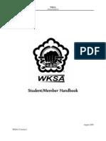 WKSA Student Handbook