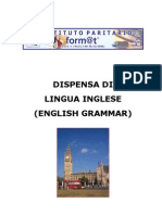 LINGUA INGLESE - GRAMMATICA