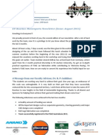 IITRMS Newsletter August 2011