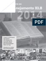 Revista Do Palnejamento IELB 2010 -2014