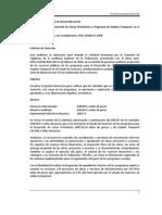 2009 Programa Para El Desarrollo de Zonas Prioritarias y Programa de Empleo Temporal, En El Estado de Guerrero