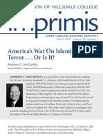 America's War on Islamist Terror