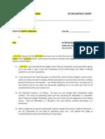 Letter Rogatory - State Criminal Cases