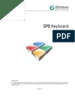 Spb Keyboard User Manual