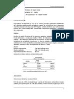 2009 Gestión Financiera del FIBESO, FIS y FOFOE