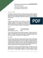 2009 Programas de Protección al Empleo y Contingencia Sanitaria