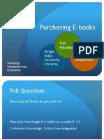 Integrating E-Books and E-Readers into Your Library, Sue Polanka
