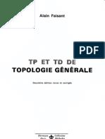 1973 Alain Faisant TP Et TD Topologie 1973 1977