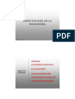 Defectologia de La Soldadura
