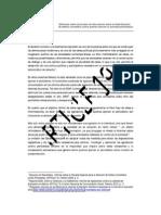 Memorias Federalización Resumen