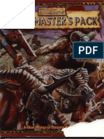 [Warhammer Fantasy Roleplay - 2nd Ed] Game Master's Pack