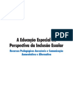 Fasciculo 6 - Recursos Pedagógicos Acessíveis e Comunicação Aumentativa e Alternativa