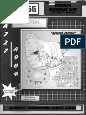 a727 - A904 Techtran Manual | Automatic Transmission | Manual
