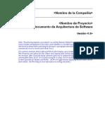Documento de Arquitectura de Software