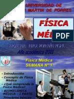 FISICA MEDICA-SEMANA-01-2011