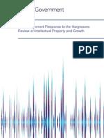 UK IPO Response Hargreaves Report