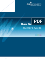 Gas Analyzer ML206 OG