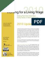 BC - Living Wage - 2010
