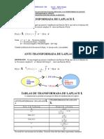 Transform Ada y Anti-Transformada de Laplace