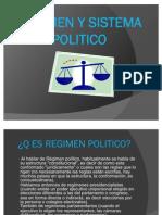 Regimen y Sistema Politico
