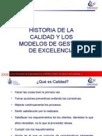 Historia de La Calidad y Modelos