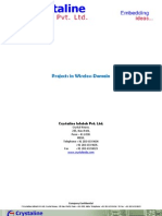 Project in Wireless Domain
