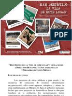 Informe de la Universidad Fordham sobre violaciones a derechos humanos en mega proyectos en México