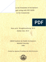 Research on the Promotion of Acceptance of People Living With HIV_AIDS in the Community