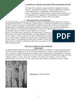 Movimientos culturales y estéticos a finales del siglo XIX y principios del XX