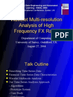Wavelet Multi Resolution Analysis of High Frequency Fx Rates 1203290417290522 5