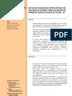 Estudo de Viabilidade Internet Xerém-RJ