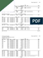 2011 YTD AP Register