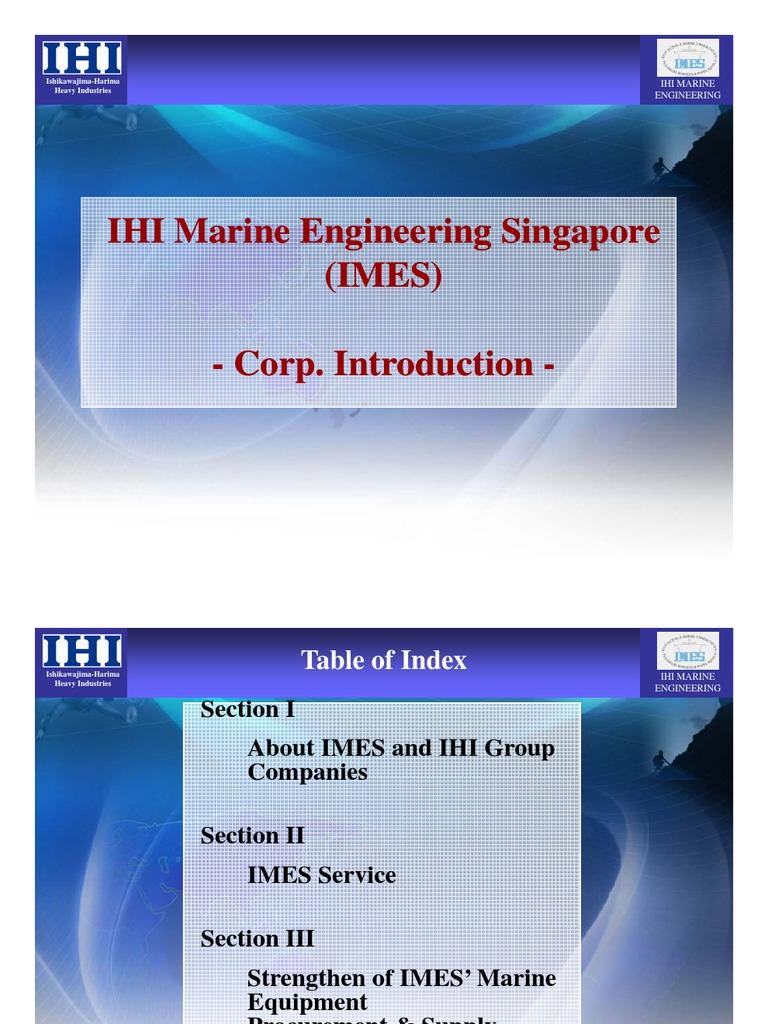 IMES Singapore | Shipyard | Ships