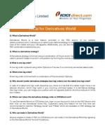 FAQs for Derivatives World -FINAL