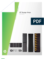 HP Storage Arrays Family Guide