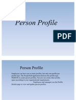 Person Profile