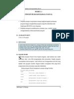Modul 01 - Struktur Dasar Bahasa Pascal