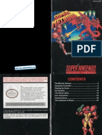 Super Metroid Manual