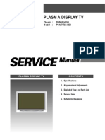 Samsung, PS42V4SX-XEU_D65CP Chassis