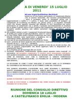 Presentazione Attivita' Biliardo Boccette 2011-2012