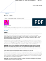 Fte - Design, Sustainability and the Urmadic University