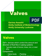 Valves 12