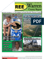 The Early August, 2011 edition of Warren County Report